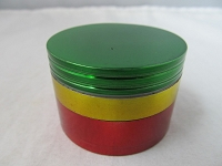 50mm Rasta Color 4 Part Grinder