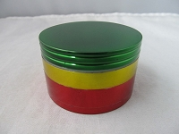 63mm Rasta Color 4 Part Grinder