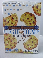 High Hemp Organic CBD Blunt Wraps 25ct (Baked Kookie)