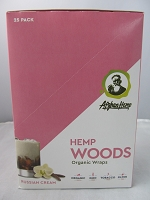 Afghan Hemp Woods Organic Blunt Wraps 25ct (Russian Cream)