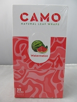 CAMO Natural Leaf Wraps by Afghan Hemp 25ct (Watermelon)