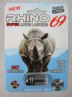 Rhino 69 Platinum 69K Male Enhancement 24ct Display