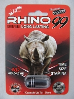 Rhino 99 Platinum 99K Male Enhancement 24ct Display