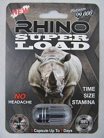 Rhino Super Load Platinum 99K Male Enhancement 24ct Display