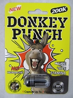 Donkey Punch 200K Male Enhancement 24ct Display