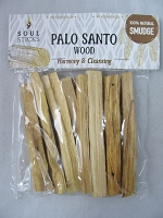 Soul Sticks Palo Santo Wood 100% Natural 1oz