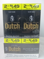 Dutch Master Slow Burn 2/$1.49 ~ 2/30ct Pouch (Dutch Blend Silver)