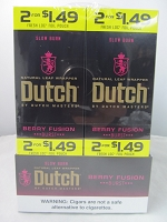 Dutch Master Slow Burn 2/$1.49 ~ 2/30ct Pouch (Berry Fusion)