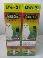 White Owl Cigarillos Save On 2 ~ 30ct Pouch DUOS (Mango)