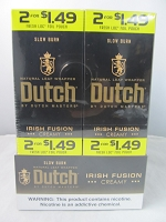 Dutch Master Slow Burn 2/$1.49 ~ 2/30ct Pouch (Irish Fusion)