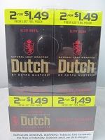 Dutch Master Slow Burn 2/$1.49 ~ 2/30ct Pouch (Sweet Red Fusion)