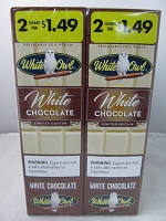 White Owl Cigarillos 2 for $1.49 ~ 30ct Pouch (White Chocolate)