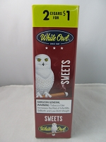 White Owl Cigarillos 2 for $1 ~ 15ct Pouch (Sweets)