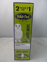 White Owl Cigarillos 2 for $1 ~ 15ct Pouch (White Grape)