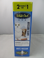 White Owl Cigarillos 2 for $1 ~ 15ct Pouch (White Russian)