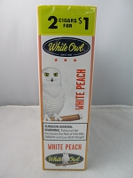 White Owl Cigarillos 2 for $1 ~ 15ct Pouch (White Peach)