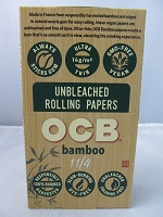OCB Bamboo 1-1/4 Size Paper 24 Booklets 50 Leaves