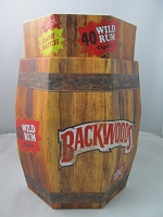 Backwood Wild Rum Rare Batch 40ct Barrel *NEW*