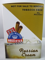Royal Blunts XXL Hemp Wraps 2PK 25ct (Russian Cream)