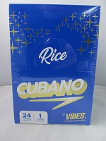 Vibes Rice Cubano Cone King Size 24ct Display