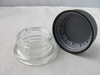 9ml Child Proof Glass Container Jar 10ct Bundle