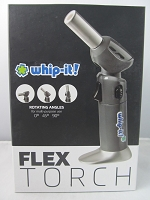 Whip It Flex Torch Lighter (Grey)