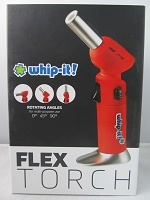 Whip It Flex Torch Lighter (Red)