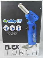 Whip It Flex Torch Lighter (Blue)