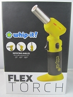 Whip It Flex Torch Lighter (Yellow)