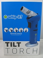 Whip It Tilt Torch Lighter (Blue)