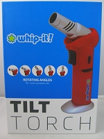 Whip It Tilt Torch Lighter (Red)