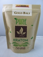 Matrix Botanicals Premium Pure Gold Bali Kratom Series 250 Grams