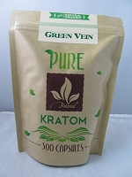 Matrix Botanicals Premium Pure Green Vein Kratom Series 300 Capsules