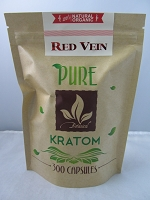 Matrix Botanicals Premium Pure Red Vein Kratom Series 300 Capsules
