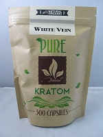 Matrix Botanicals Premium Pure White Vein Kratom Series 300 Capsules