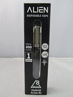 Alien Delta 8 Disposable Vape Device 1ml 900mg Delta 8 400 Puffs (Hybrid Area 41)