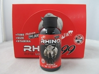Rhino 99 Platinum 2oz Male Enhancement Shot 12ct Display