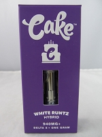 Cake - Delta 8 Vape Cartridge 940mg - White Runtz