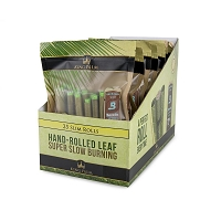 King Palm Slim Bulk Pouch w/ Boveda 25 Pack 8ct Display