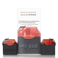 MI-POD Replacement Pods 2ml 1.0ohm 2ct