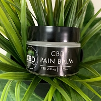 CBD The Cure All Pain Balm 200mg 2oz