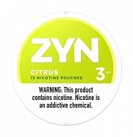 ZYN 15 Nicotine Pouches 3mg 5pack