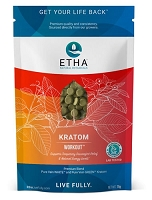ETHA Natural Botanicals Workout Compressed Tablet 75g 250ct Pouch