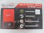 Weigh Max W-NJ 100g 0.01g Ninja Red