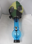 Camo Color Gas Mask W/ Plastic Pipe