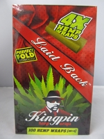 King Pin Hemp Blunt Wraps (25X4ct)