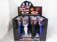 Electric Power Metal Grinder 12ct Display