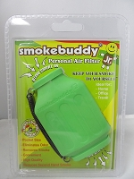 Smoke Buddy Junior Pocket Size Personal Air Filter (Lime Green)