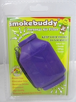 Smoke Buddy Junior Pocket Size Personal Air Filter (Purple)