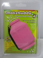Smoke Buddy Junior Pocket Size Personal Air Filter (Pink)